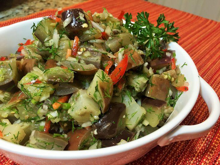 Баклажаны как Грибы- ХИТ СЕЗОНА последних лет. Очень вкусный овощной салат, пикантный, ароматный, в меру острый. В осенне-летний период пользуется огромной п...