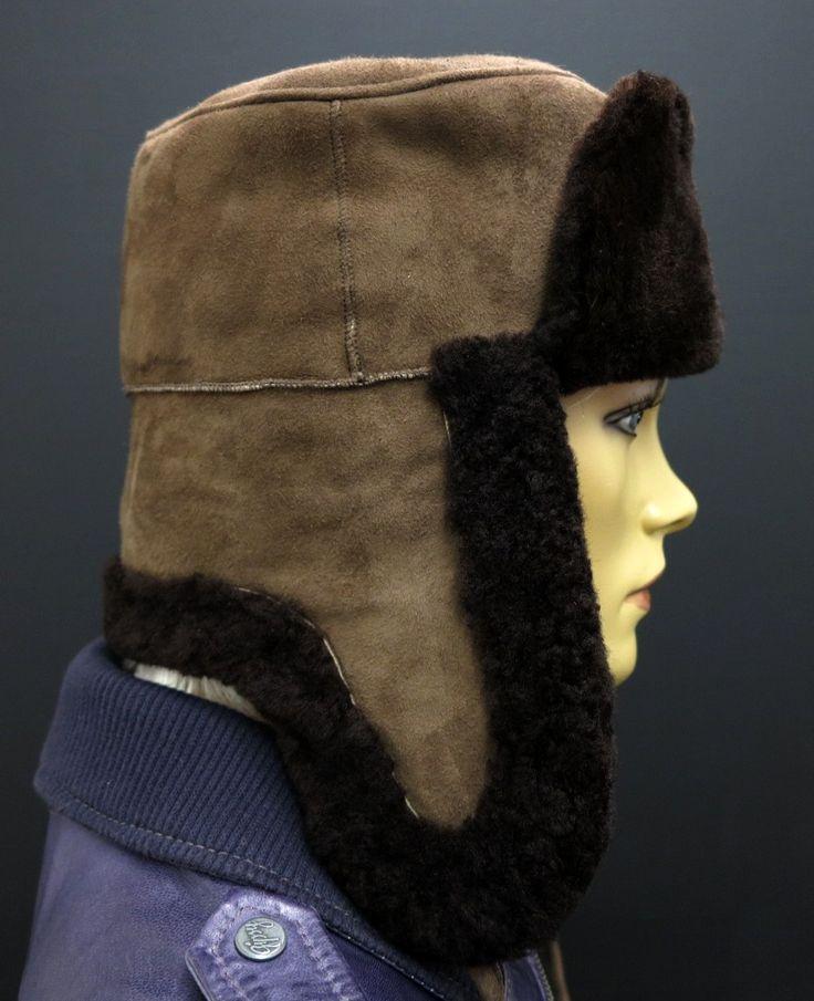 Ušanka z ovčiny - Made in Czech Republic