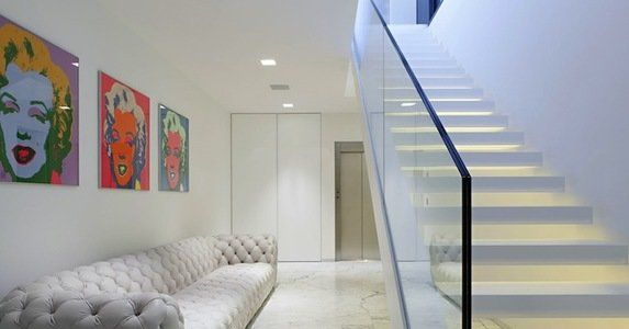 When In Doubt Revive Your Grout Stairs Design