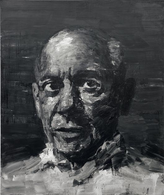 'Portrait de Picasso' (2009) by Yan Pei-Ming