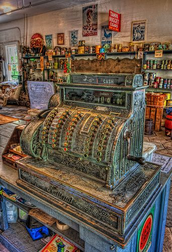 General Store Cash Register General Store Cash Register, Heritage Village, Largo, Florida