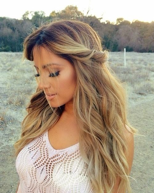Romantic Twisted Hairstyle for Women