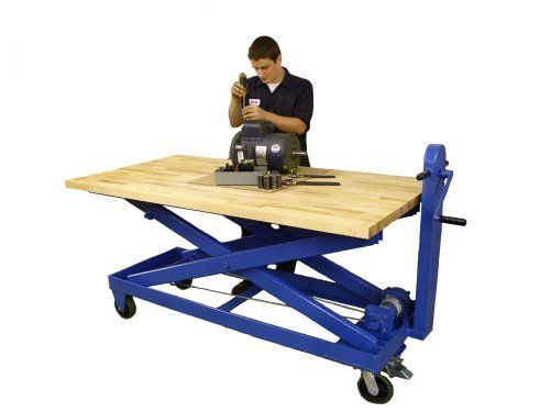 Mechanical Lift Tables - Air Technical Industries