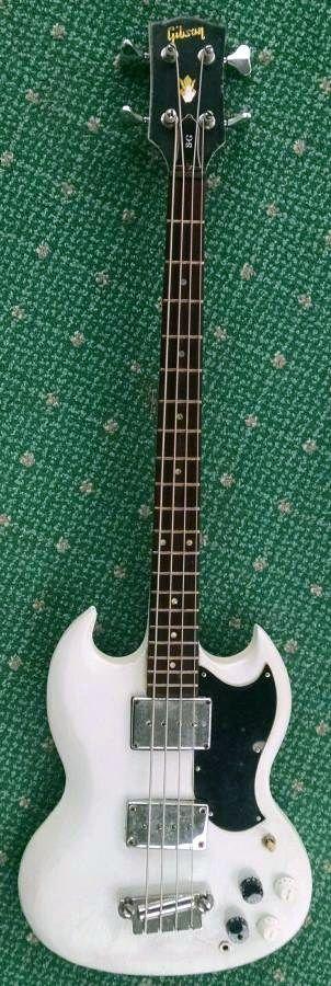 1967 Gibson EB3 Bass Guitar - USA (modified) #Guitartypes