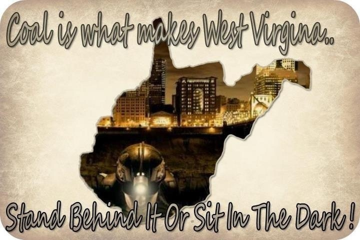 Proud to be a coal miners daughter!