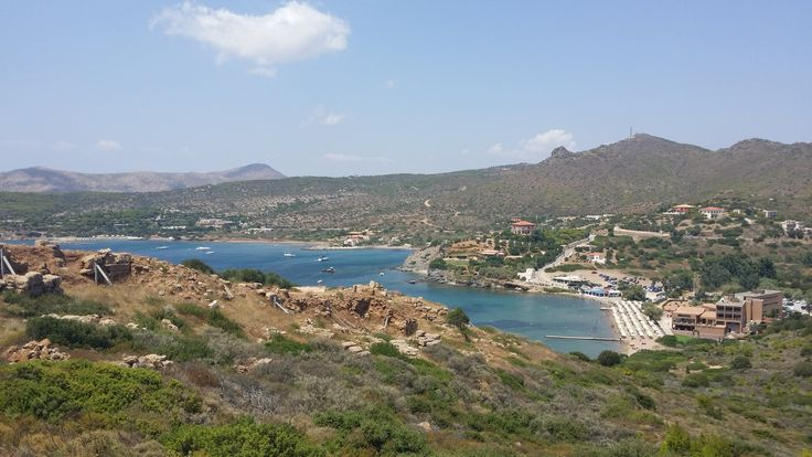#view from #sounio #athens #greece #roadtrip