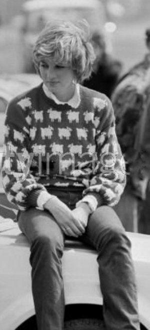 Princess Diana- sheep sweater!!