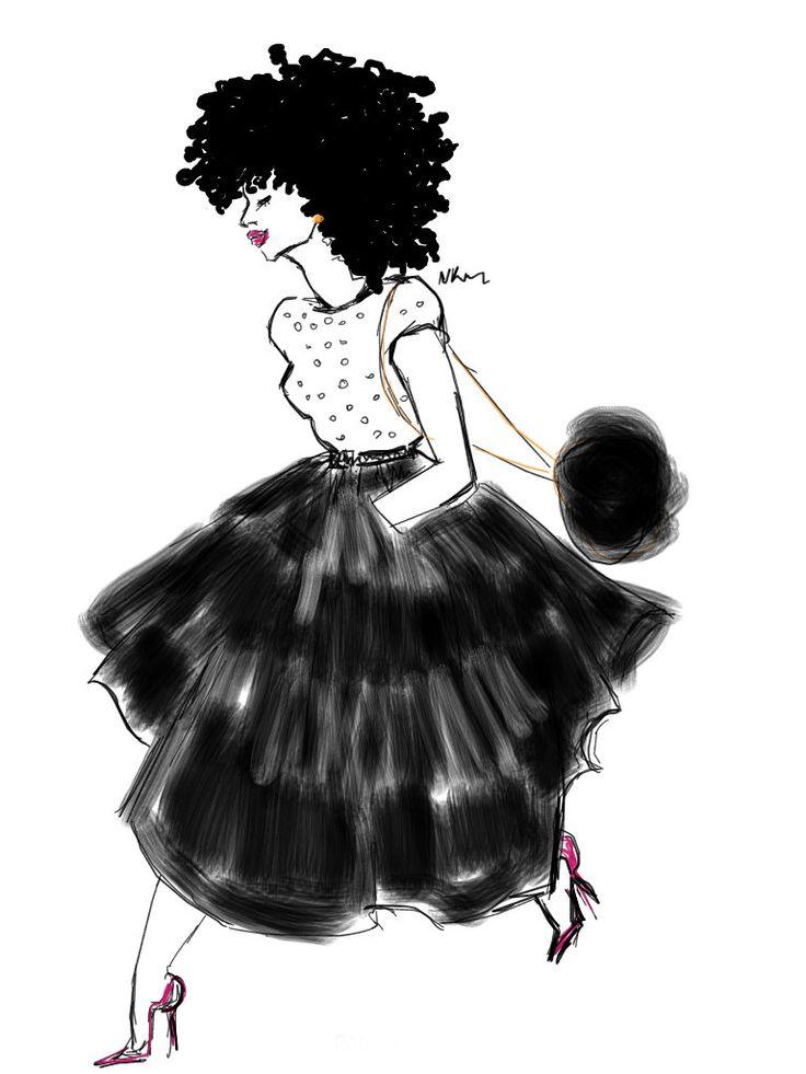 Black Parisian Style de la boutique Nikisgroove sur Etsy