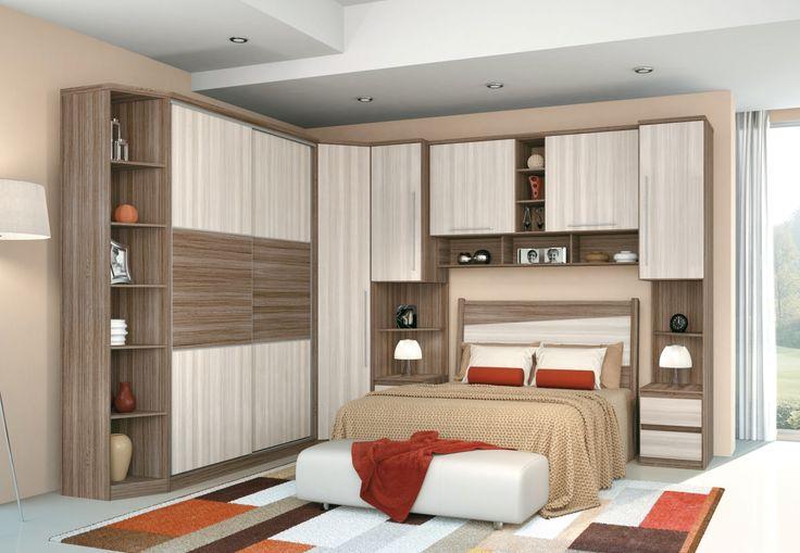 Decoração de Quarto de casal, cama embutida no armario  Home decor  Pintere