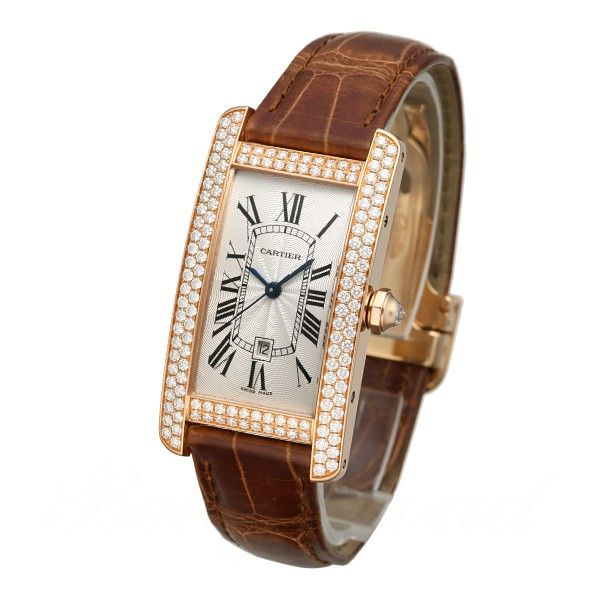 lowest price 4af34 68ae8 カルティエ CARTIER タンクアメリカン MM WB704751 保証:当店 ...