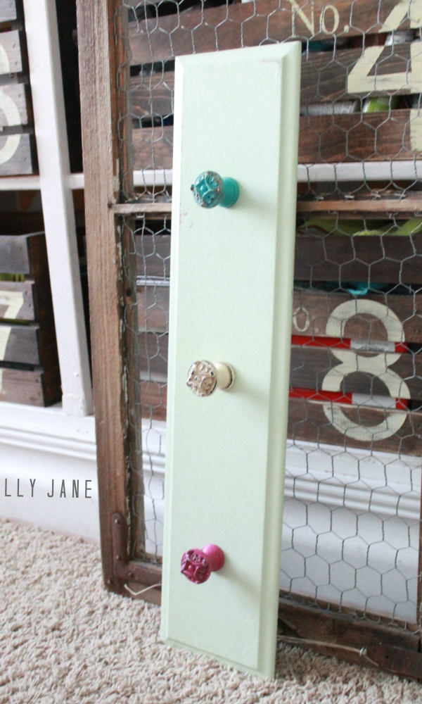 diy cupboard door hooks