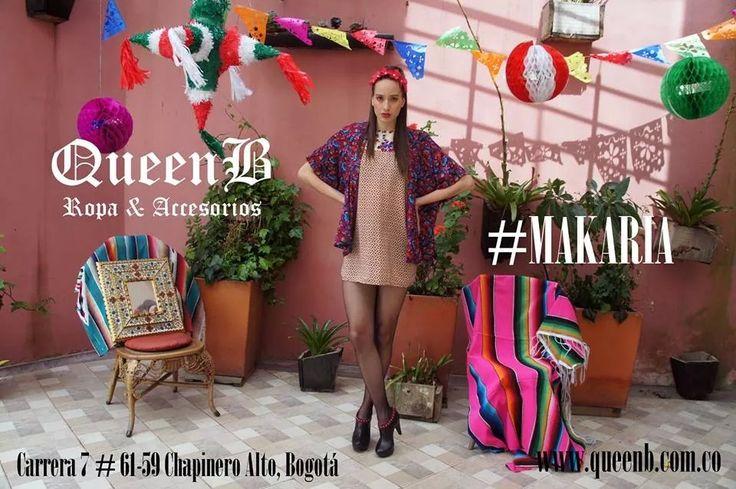 Nueva coleccion #makaria disponible ya en nuestra tienda de diseño QueenB carrera 7 # 61-59 chapinero alto, Bogotá