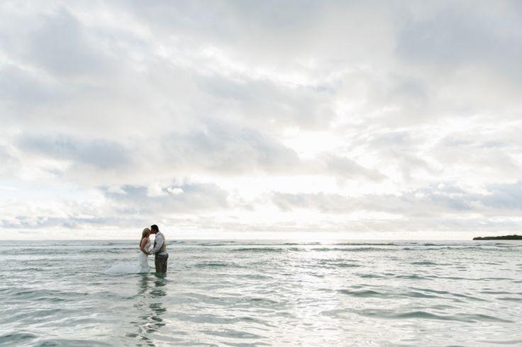 Trash the dress Fiji. Day after wedding photography. Image: Cavanagh Photography http://cavanaghphotography.com.au