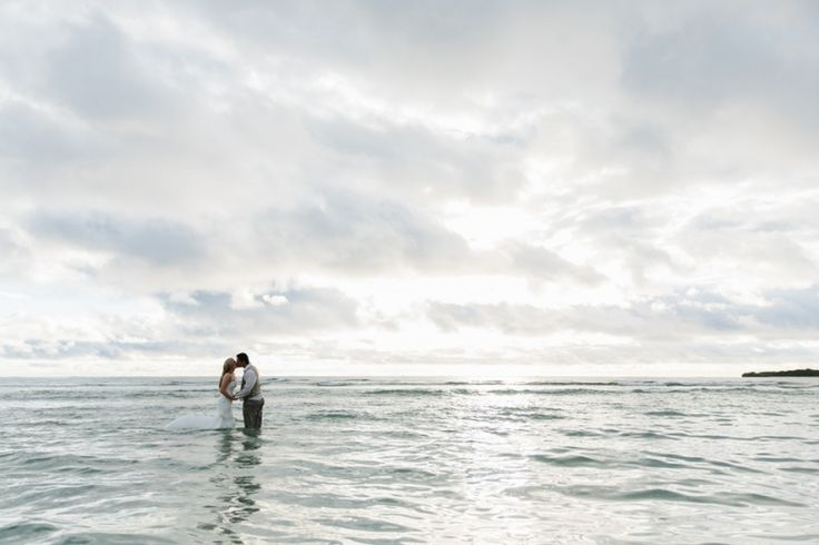 Trash the dress Fiji. Day after wedding photography. Image: Cavanagh Photography http://cavanaghphotography.com.au