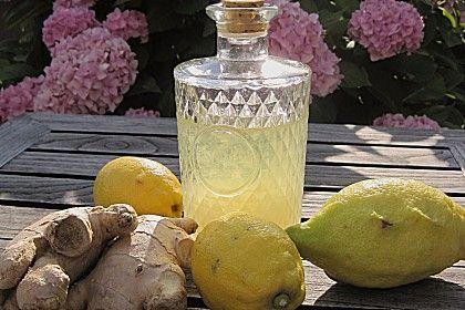 Zitronen - Ingwer - Likör (Rezept mit Bild) von blulichblau | Chefkoch.de