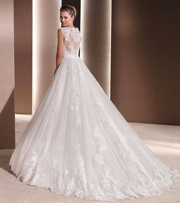 Raven by La Sposa available from The Bridal Rooms