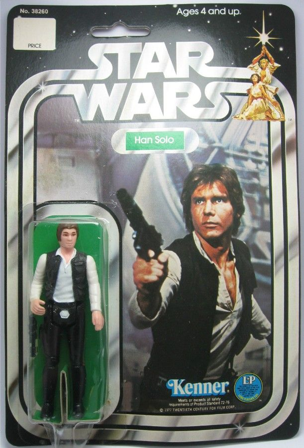 Harrison Ford as Han Solo in Star Wars Action Figure by Kenner, 1977