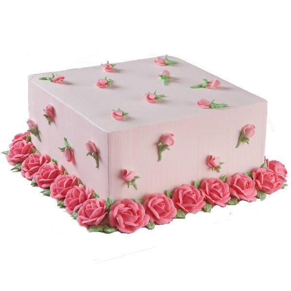 Shabby Chic roses cake