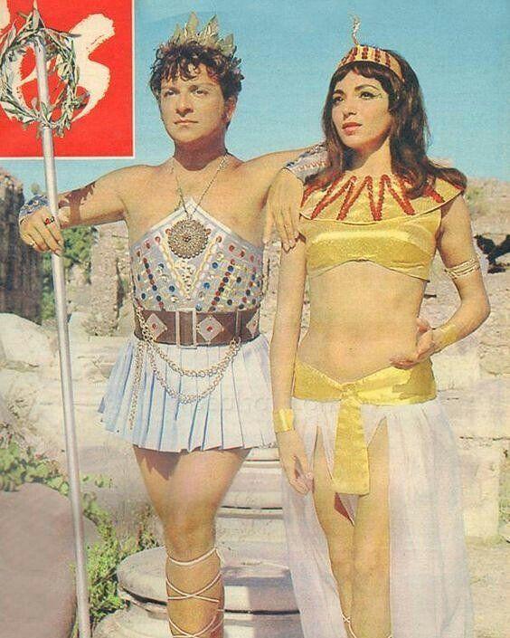"""293 Beğenme, 8 Yorum - Instagram'da yeşilçam hakkında her şey (@yesilcammecmuasi): """"Sezar ve Kleopatra #zekimüren #nilkutval"""""""