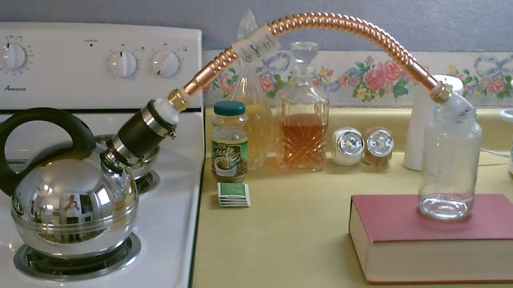 "Homemade Water Distiller. This Stove Top ""pure water"" Still is great for purifying dirty or salt water. produces lots of pure drinking water fast. can be pow..."