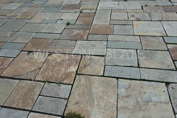 Slate paveing tiles for garden stone
