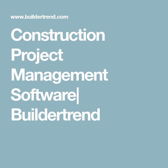 Best  Construction Project Management Software Ideas On