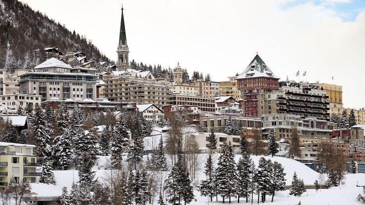 Sankt Moritz: el destino preferido de los esquiadores