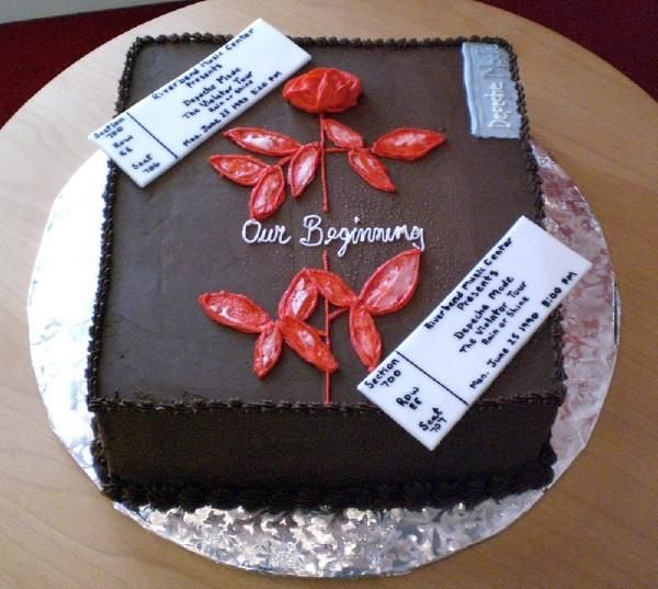 8 Best Images About Depeche Mode Cake On Pinterest
