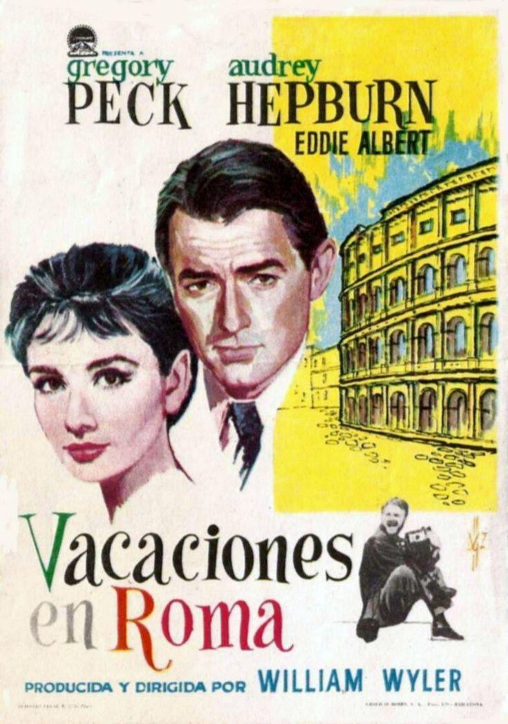 """Vacaciones en Roma (1953) """"Roman Holiday"""" de William Wyler - tt0046250"""