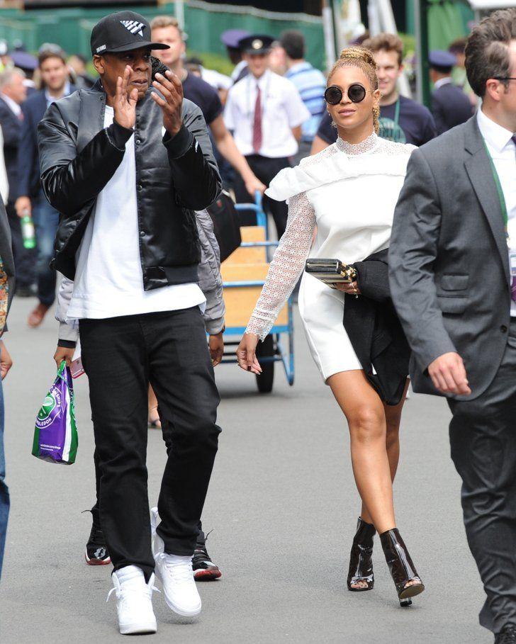 Star News | Beyoncé und Jay Z hatten den größten Spaß in Wimbledon | POPSUGAR Deutschland Stars Photo 13