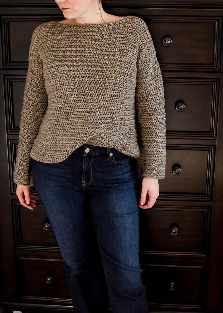 Beginner's Guide To Crocheting A Sweater + Crochet Sweater Pattern 7