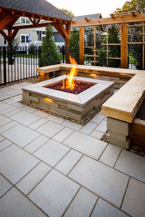 Backyard ideas and Bonfire pits