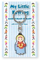 Immaculate Heart of Mary Key Chain.