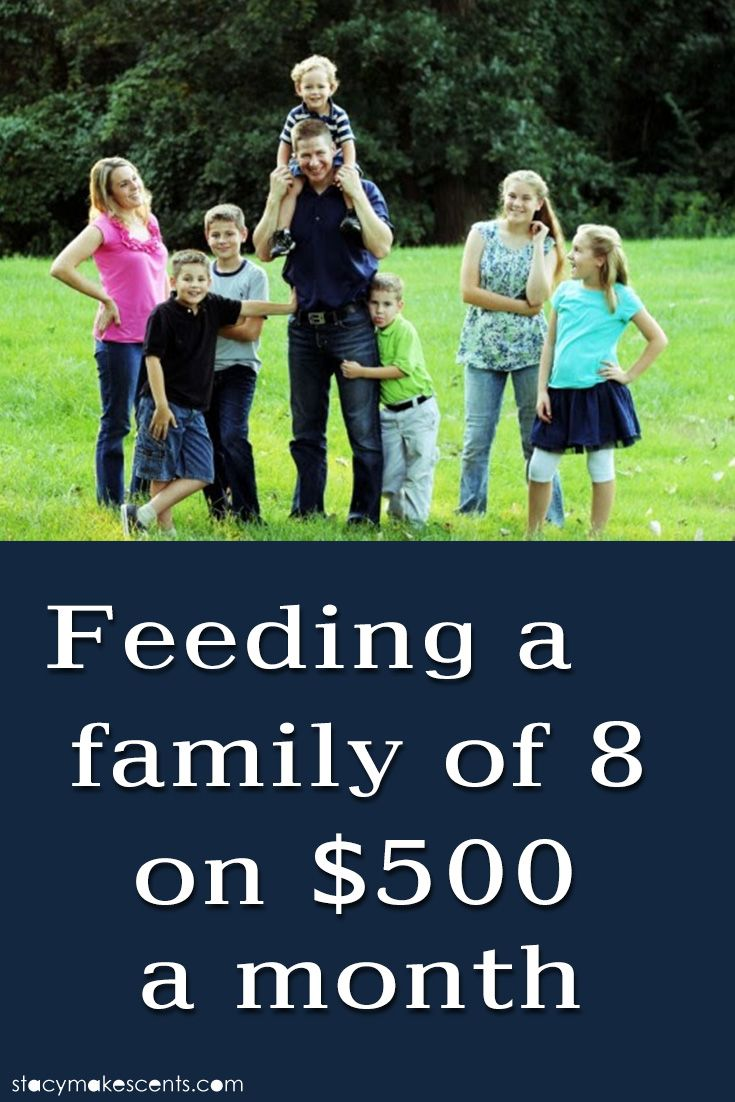 Do you have a large family? Get the secrets of feeding a family of 8 on $500/month with no coupons.