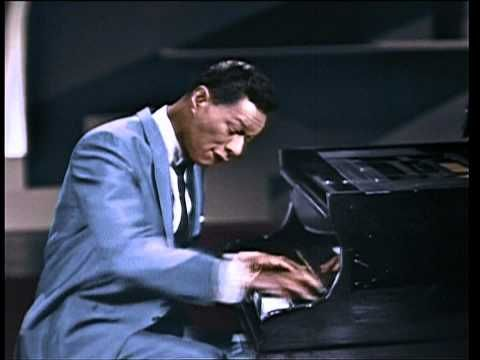An Evening With Nat King Cole, from a 1963 summer broadcast on the BBC. 47 minutes long. Cole is one of the greatest voices ever. Sadly, he entered hospital fifteen months after this show, with lung cancer, mostly likely from smoking up to 3 packs of cigarettes a day, which he did deliberately to give his voice its soft texture.