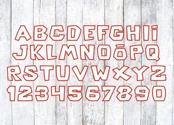 Roblox font Roblox font svg Roblox logo svg Roblox digital Etsy