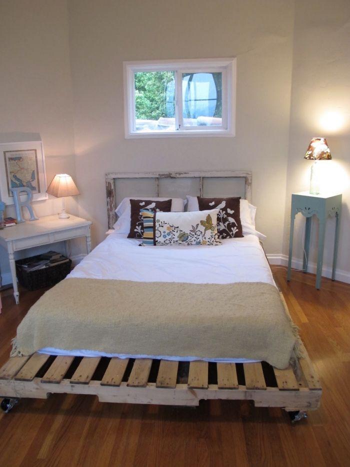 17 best ideas about bett aus europaletten on pinterest selber bauen kinderbett m bel aus. Black Bedroom Furniture Sets. Home Design Ideas