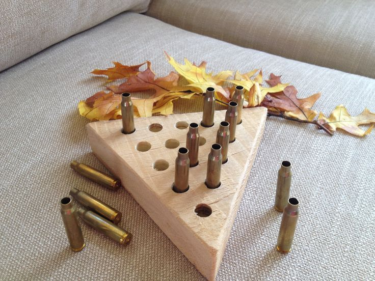 This version of the Cracker Barrel Game with bullet casings would be a great gift for any outdoorsman, hunter, or gun-lover!