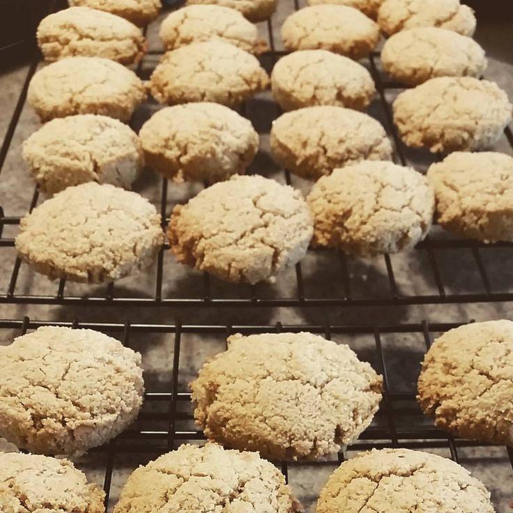Almond Cookies (Gluten-Free, Dairy-Free, Vegan and Paleo Friendly) 6 Cookies
