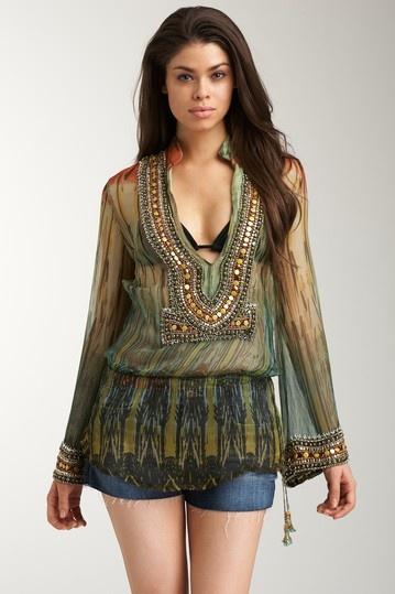 Monique Leshman Signature Glamour Tunic - http://www.hautelook.com/short/3AL7U