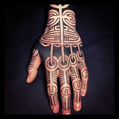 25 Awesome Hand Tattoo Designs: 25+ Best Ideas About Tribal Hand Tattoos On Pinterest