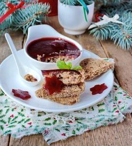 Рийет (rillette) из кролика с печенью и мармеладом из портвейна