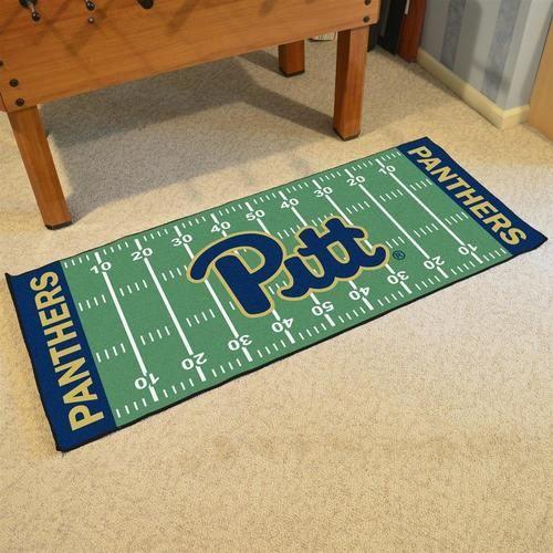 Pitt University Panthers Carpet Floor Runner Mats Rugs