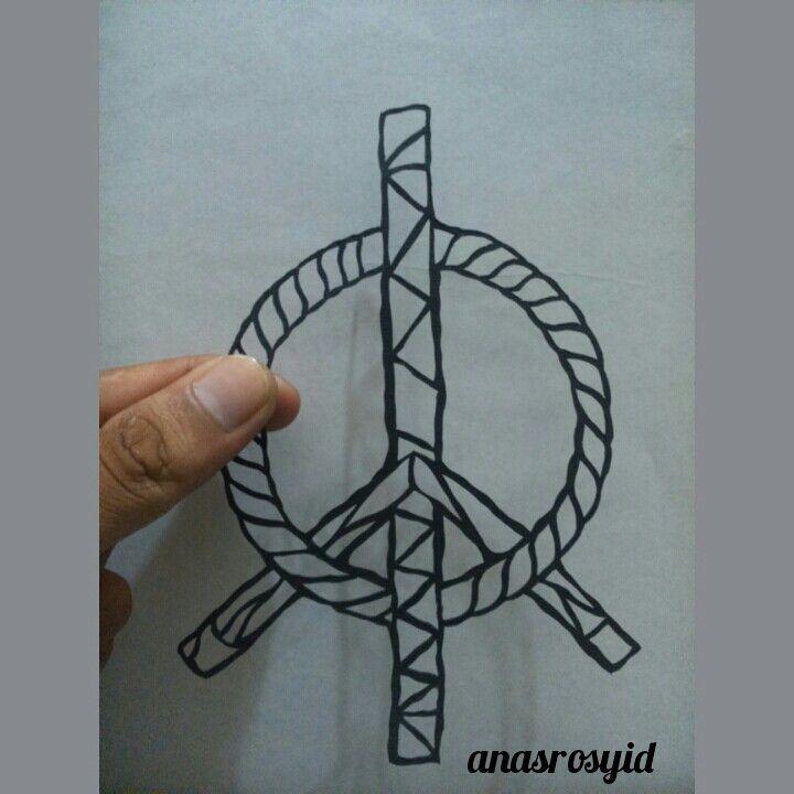#peace #papercut