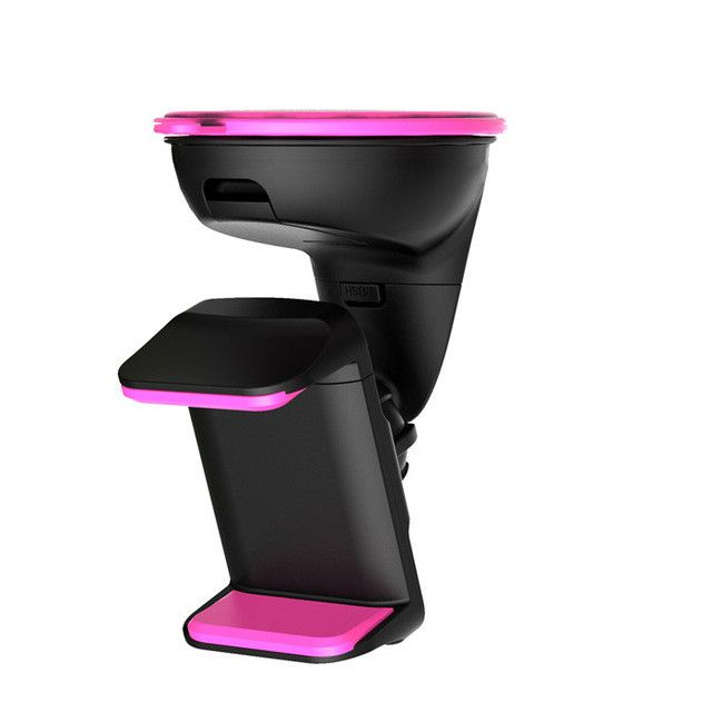 Double clip mobile phone holder for car