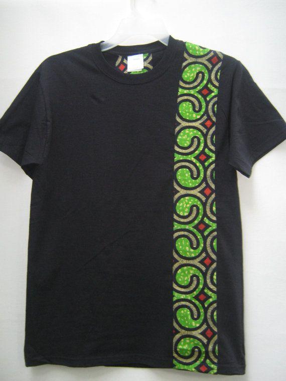 African Print T shirt African Print T shirt Tribal by Shipella, $28.00