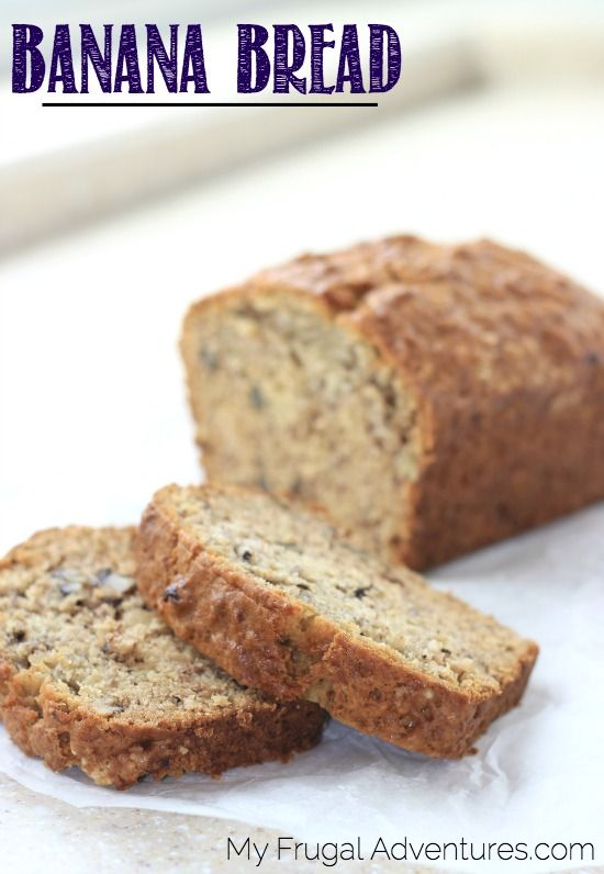 Banana Bread is one of our absolute favorite treats. My girls love it and honestly I do too. There is something so comforting about warm banana bread, it just makes a perfect after school snack o…