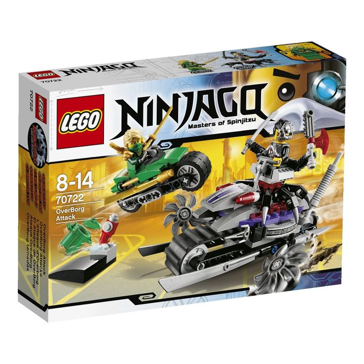 Lego Ninjago 70722 - OverBorg Attacke: Amazon.de: Spielzeug