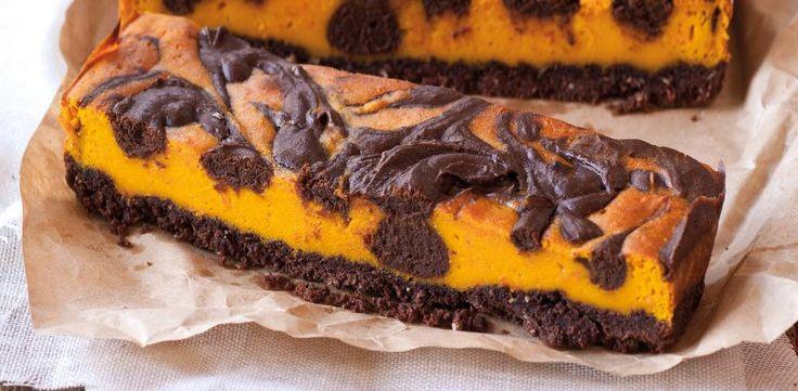 Recepty: Čokoládovo-dýňový cheesecake