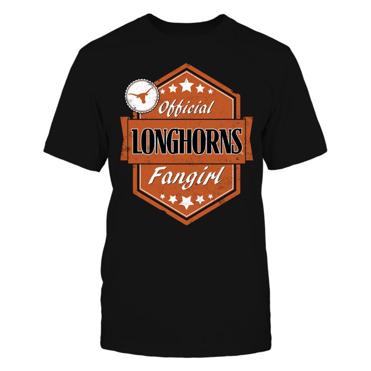 Official Longhorns Fangirl - University of Texas T-Shirt, Officially Licensed Show your love for the University of Texas Longhorns with this fun Official Longhorns Fangirl design. Makes a great gift for female fans of the Longhorns! Exclusive Design  The Texas Longhorns Collection, OFFICIAL MERCHANDISE  Available Products:          District Men's Premium T-Shirt - $27.95 District Women's Premium T-Shirt - $29.95 Next Level Women's Premium Racerback Tank - $29.95 Pack of 4 stickers - $10.00…